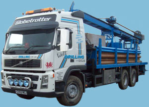 Borehole Drilling Lorry Rig